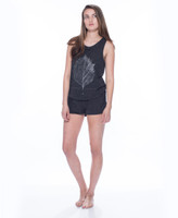 NYC Leaf Reflect Tank and Short Set