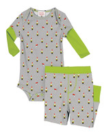 Teeny Gnomes Infant Two-Fer Romper and Pant
