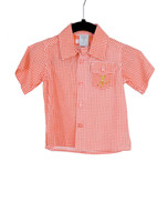 Gingham Red Camper Shirt Playwear