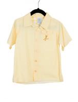 Gingham Camper Shirt-Yellow