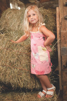 Butterflies Patch Pocket Dress Playwear