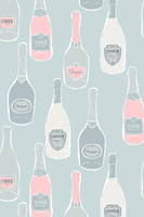 Champagne Jersey Hoodie Nightshirt