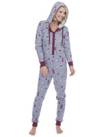 Coffee Long Sleeve Sparkle Fleece Onesie (M01464)