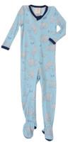 Blue Polar Bears Thermal Blanket Sleeper (MK00990)