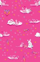 Bunny Love Long John PJ Set (MK01023)