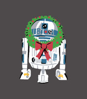 Winter R2-D2 Women's Long Sleeve and Pant PJ Set