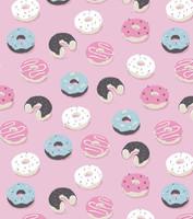 Donuts Flannel Jogger PJ Set