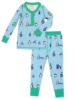 Penguin Parade Kids Long John Set