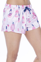 Rosé Women's Satin Petal Short