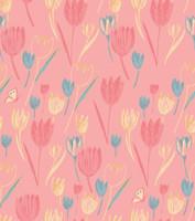 Tulips Jersey Dolman Nightshirt