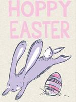 Heather Hoppy Easter Girl Bunnies Shirt Screen Print Art