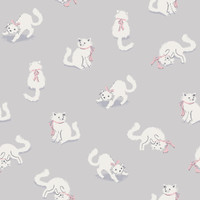 Kitten Pant Roll Print Art