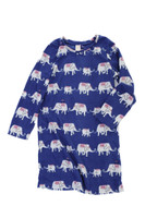 Marching Elephant Youth FR Long Sleeve  BMJ Nightshirt