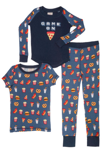 Game On Kids 3 Piece PJ Set