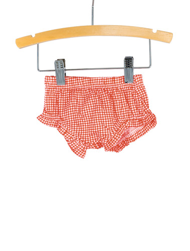 Red Gingham Knit Bloomer