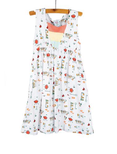 BBQ Knit Empire Tank Dress