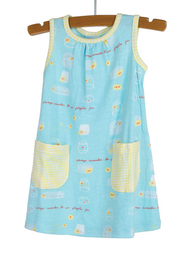 Fireflies Knit Dress with Patc