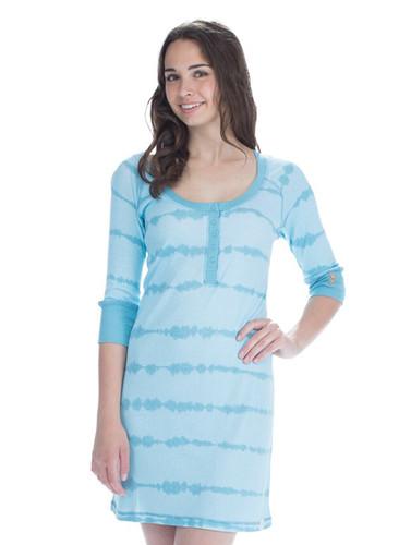 Aqua Tie Dye Nightshirt