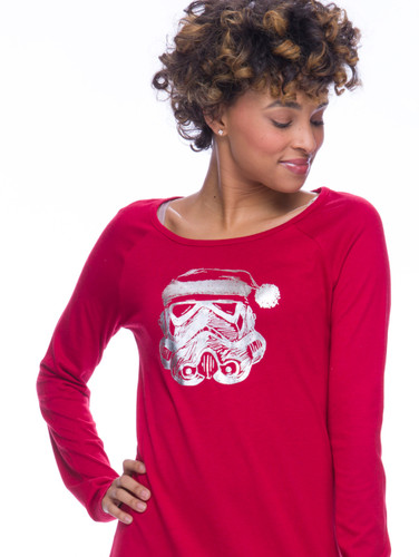 Stormtrooper Candy Cane Jersey Nightshirt