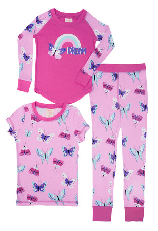 Butterfly Kids 3 Piece PJ Set