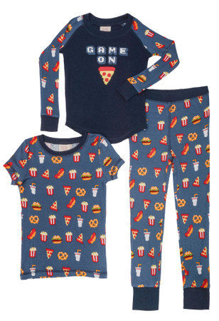 Game on 3 Piece PJ Set
