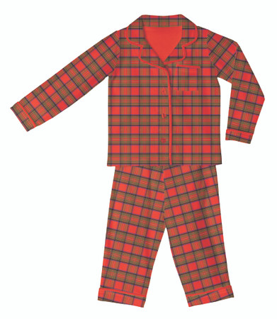 Christmas Plaid Classic Set