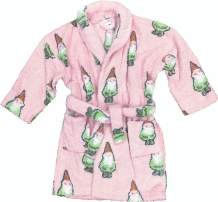 Kids Pink Gnome Robe
