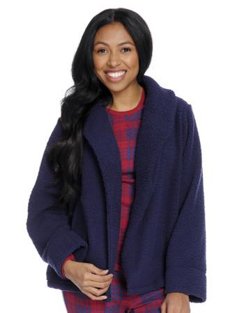 Sherpa Fleece Sleep Cardigan