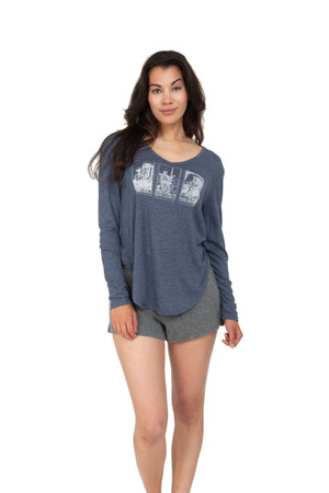 Retrospective Co. Tarot Top & Short PJ Set