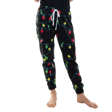 Ladies Xmas Light Joggers