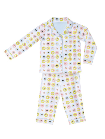Sushi Kids Flannel Classic PJ Set