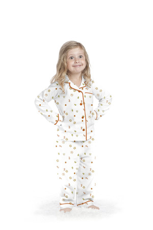 X-mas Cookies Kids Flannel Classic PJ Set