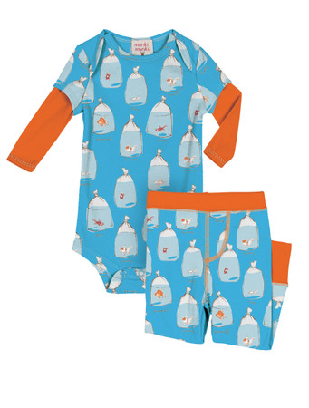 Goldfish Infant Onesie