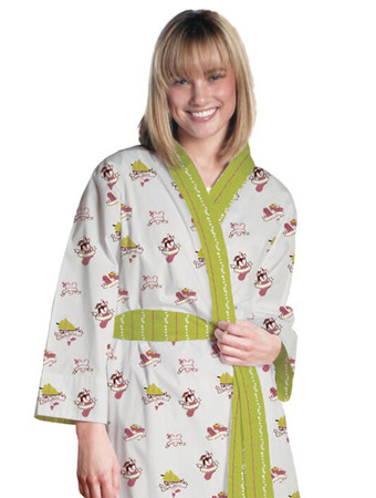 Holiday Traditions Flannel Robe