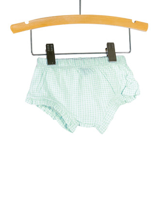 Blue Gingham Bloomer Playwear