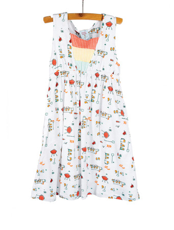Picnic Kids Jersey Empire Tank Dress