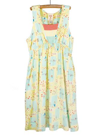 Summer Pool Empire Tank Dress Playwear