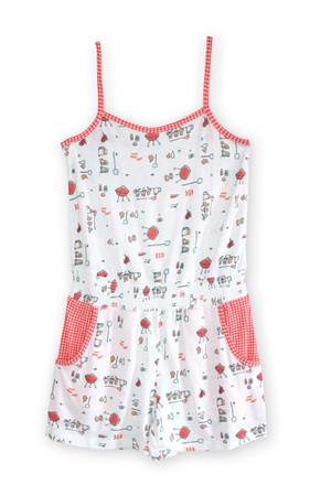 BBQ Knit Sweetheart Jumpsuit
