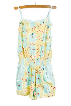 Summer Pool Sweetheart Jumpsuit Playwear