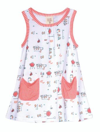 Picnic Patch Pocket Dress Playwear