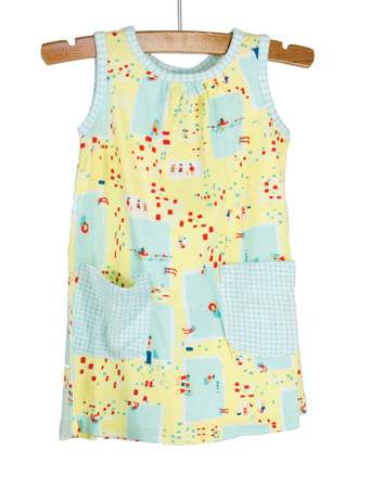 Pools Knit Dress with Patch Po