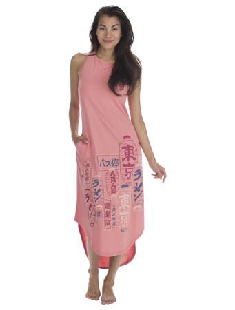 Tokyo Jersey Maxi Nightdress