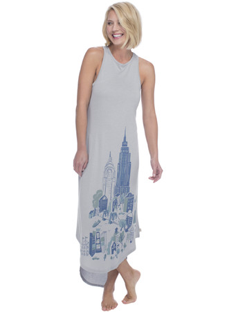 NYC Jersey Maxi Nightdress
