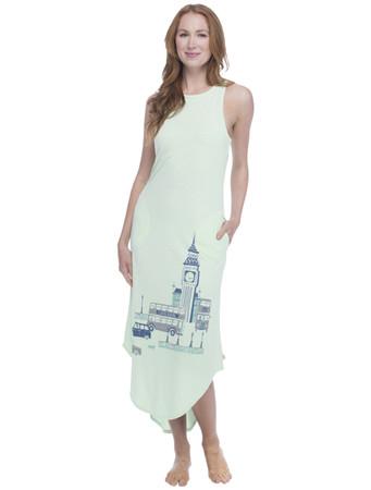 London Jersey Maxi Nightdress