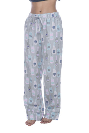 Champagne Flannel PJ Pant