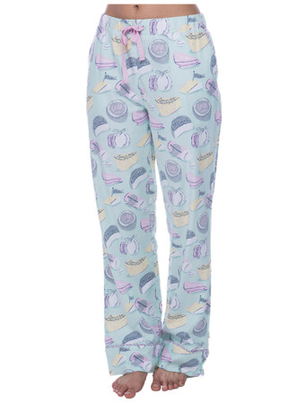 Fancy Cheese Flannel PJ Pant