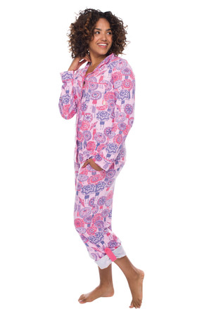 Coachella Umbrella Jersey Classic PJ Set