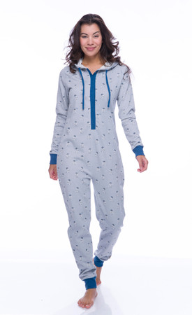 R2-D2 Sparkle Fleece Union Suit