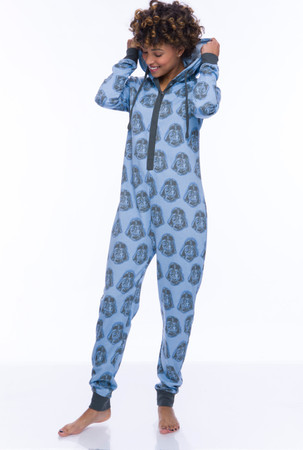Darth Vader Sparkle Fleece Union Suit