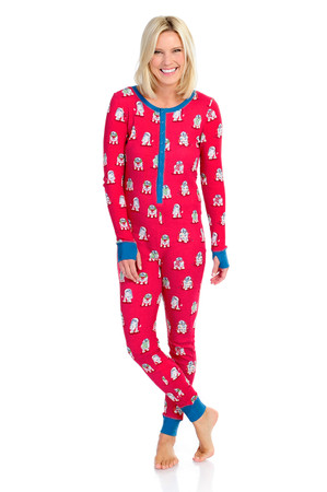 R2-D2 Christmas Womens Thermal Union Suit